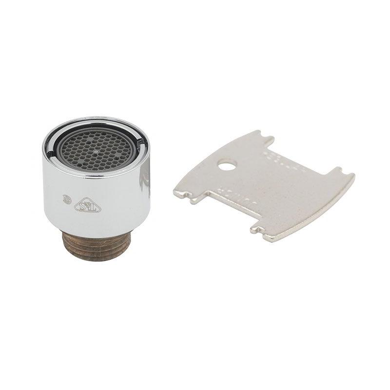 T&S Brass B-0199-07 Aerator Vandal Resistant 3/8 in IPS Male Thread Restaurant Supply