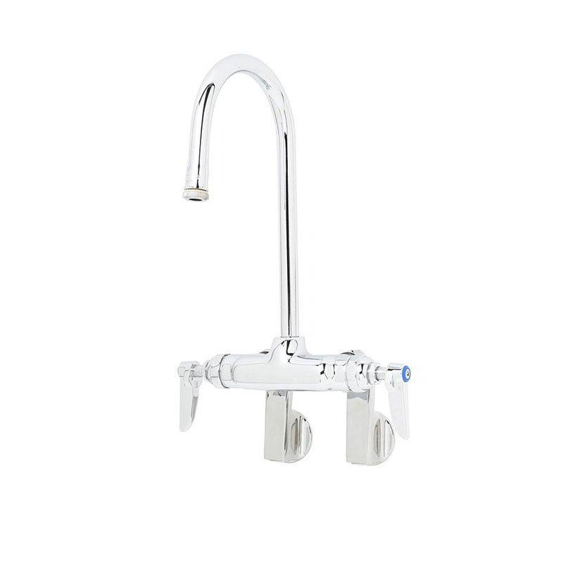 T&S B-0340 Faucet Splash Mount Rigid Gooseneck 10-1/4 in H Restaurant Supply