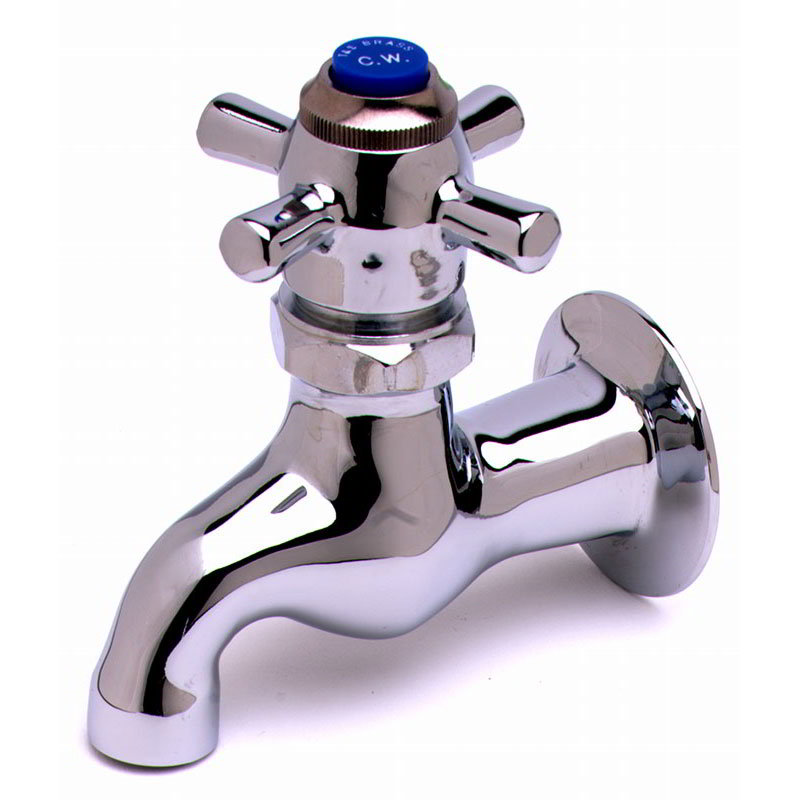 T&S Brass B-0706 Self-Closing Single Sink