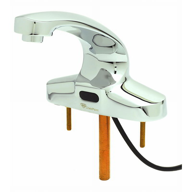 T&S Brass EC-3103 Electronic Faucet, Deck Mount, Spout, 4 in Centers