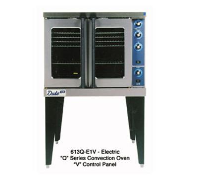 Duke Ovens 613Q-E1V Full Size Electric Convection Oven w/27in Legs 208 V 1 PH Restaurant Supply