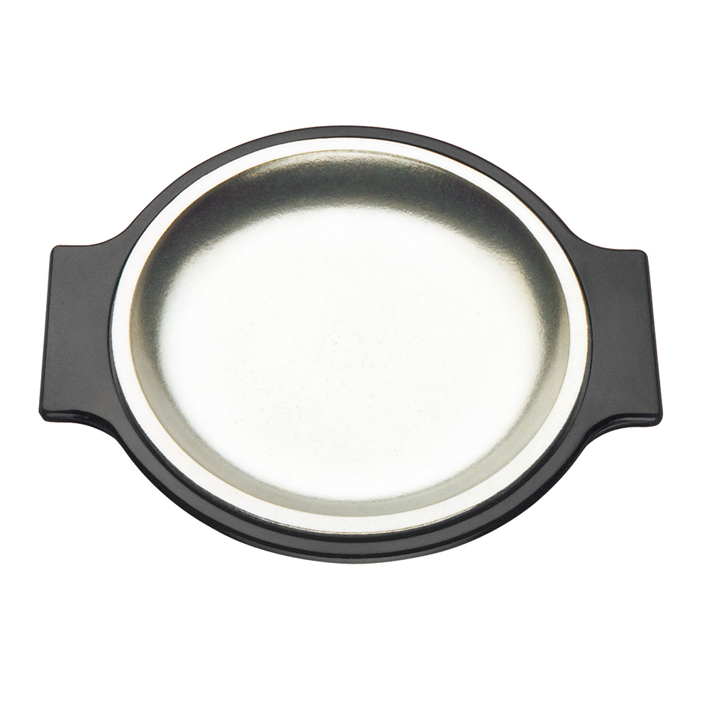 Tomlinson 1006364 Stainless Steel Sizzling Platter - 10.25 in - Round
