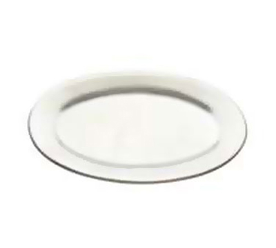 Tomlinson 1006360 Oval Dinner Platter, 6-5/8 x 10-1/4-in, Burnished Finish
