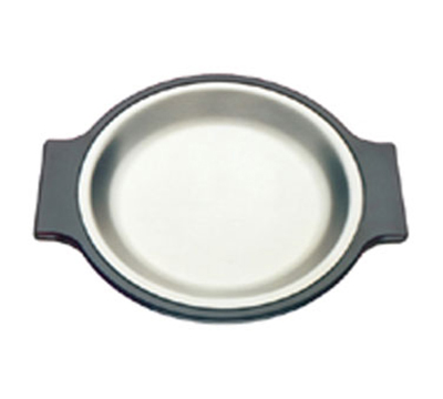 Tomlinson 1006362 Round Dinner Platter, 10-1/4-in Diameter, Frosty Finish