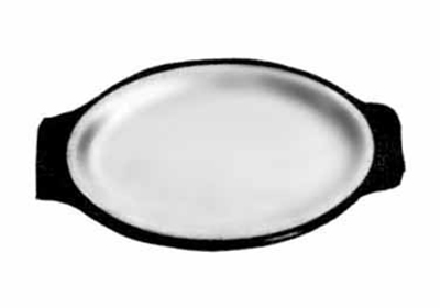 Tomlinson 1006390 Modern Oval Design Serving Platter, 9-3/4 x 14-1/2-in