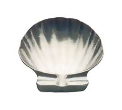Tomlinson 1006423 Bake-N-Serve Dish, Shell Design, 5-1/4-in, Burnished Finish