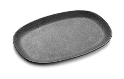 Tomlinson 1014592 Oval Cast Iron Skillet, 12 x 8-in, P