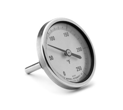 Tomlinson 1013089 Dial Marshall Urn Thermometer