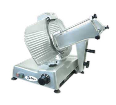 Univex 6612M 115 Manual Slicer w/ 12-in Blade, Variable Slice Thickness, Sharpener, 115/1V