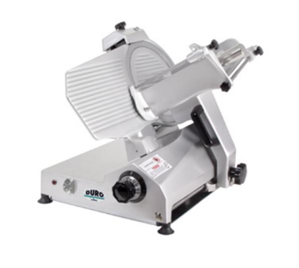 Univex 7512 1151 Manual Angle Feed Duro Slicer, 12-in Diam. Knife, 115/1