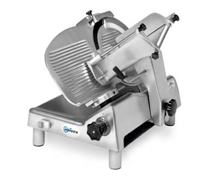 Univex 8713M 115 Manual Slicer w/ 13-in Knife, Variable Slice Thickness, Sharpener, 115/1V