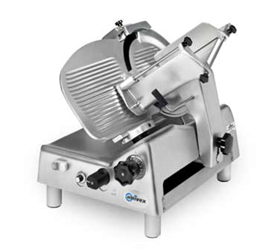 Univex 8713S 115 Variable Speed Automatic Slicer w/ 13-in Knife, Sharpener, 115/1V