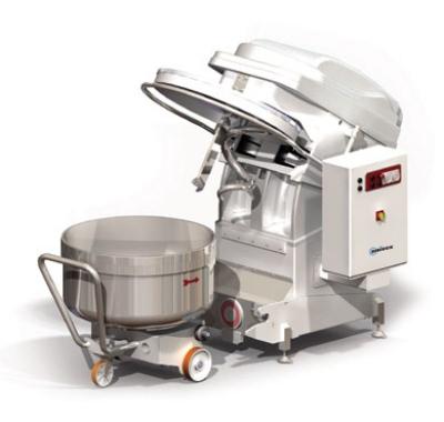 Univex SL120RB 265-lb Dough Capacity Stainless Spi