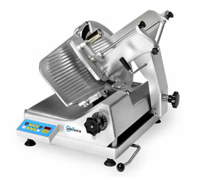 Univex 1000S 13-in Semi Automatic Slicer w/ Up To 99-Slice Counter