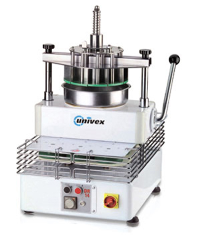 Univex DR11 Dough Divider Rounder w/ Manual Cutting, (11) 11-oz to 23-oz Portions