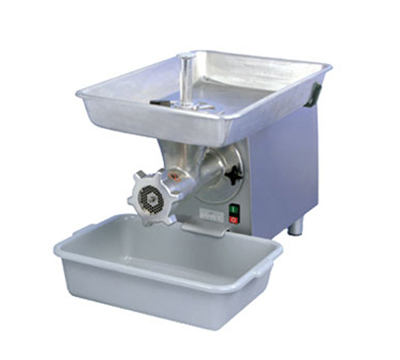 Univex MG22 115ELW Aluminum Pan & Housing Meat Grinder, 25-lb/Min, 115/1, White