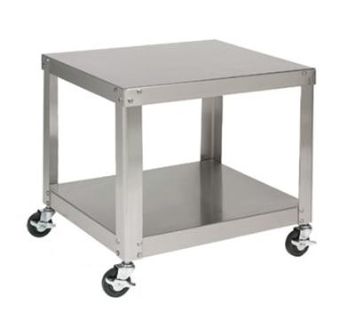 Univex S-1A Stainless Equipment Stand For Small Mixers, Locking Caste