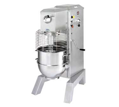 Univex SRM60  2081ELW 60-qt Floor Model Mixer Variable Speed Drive 208/240/1 White Restaurant Supply