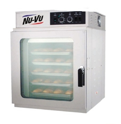 Nu-Vu RM-5T 2083 V-Air Convection Oven w/ Manual Controls, Slam Cam Handle, 208/3 V