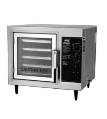 Nu-Vu XO-1M 2401 Convection Oven, Half Size w/ Electro-Mechanical Controls, 240/1 V