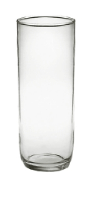 Anchor 05260 7.88-in Cylinder Vase w/ 3-in Opening, Crystal