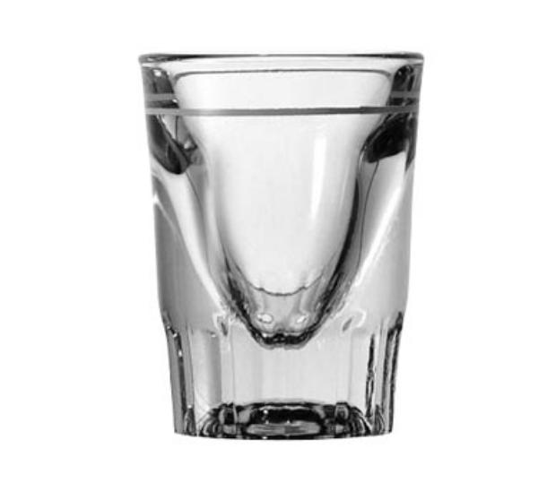 Anchor 5281/932U Line Whiskey Glass, 1-1/2 oz