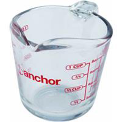 Anchor 55175OL11 8-oz Measuring Cup w/
