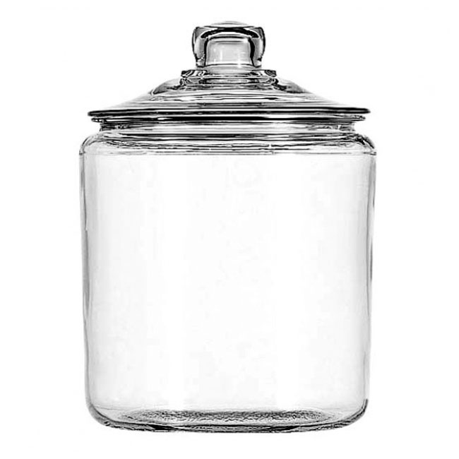 Anchor 69372T 2 gallon Heritage Hill Jar With Glass Lid