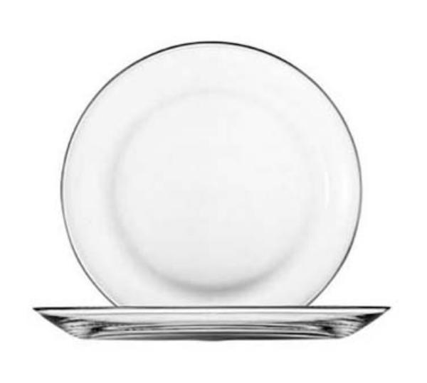 Anchor 80205 Presence Coupe Plate, 10 in, Glass