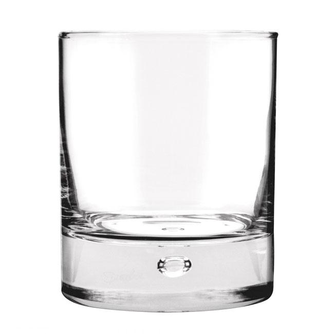 Anchor 80441 Disco Rocks Glass, Rim-Tempered,  11 oz