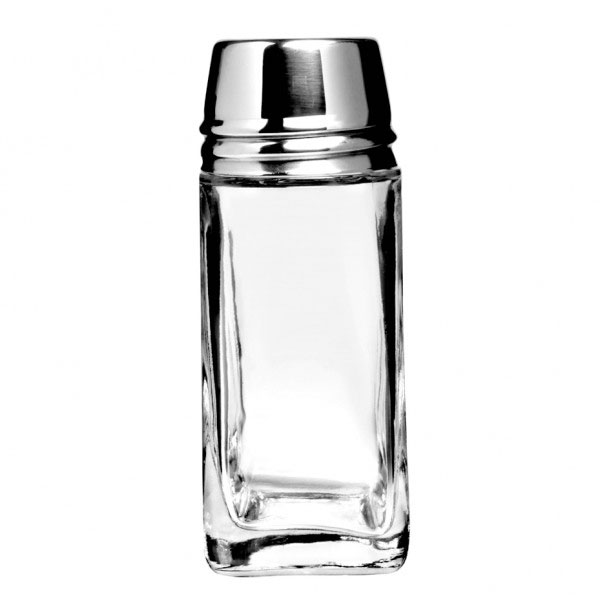 Anchor 80570 Continental Shaker with Metal Lid, 2 oz.