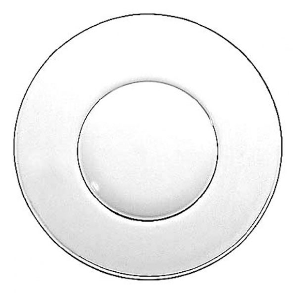 Anchor 842U Swedish Modern Design Plate, 8 in, Glass