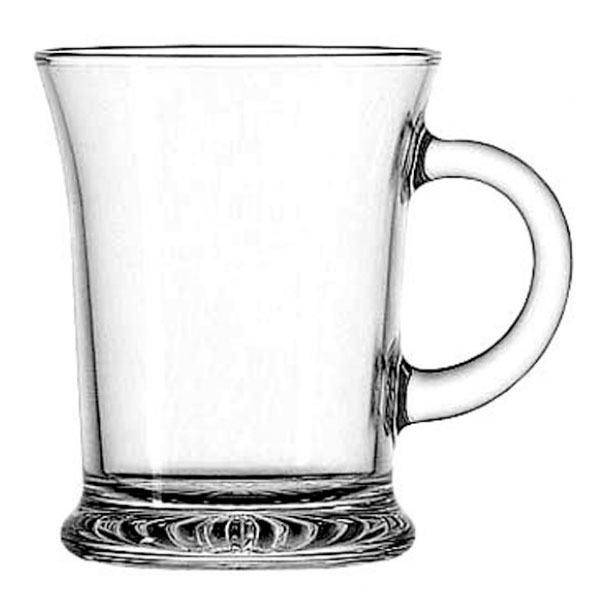 Anchor 83037A 13-1/2 oz Mocha Mug, Crystal