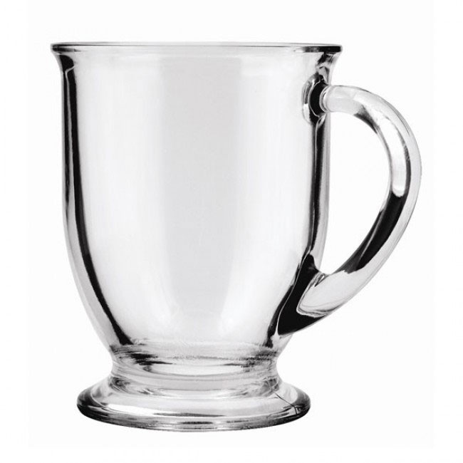 Anchor 83045A 16 oz Cafe Mug, Crystal