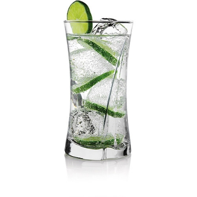 Anchor 83283L8 16-oz Flair Tumbler Set, Crystal