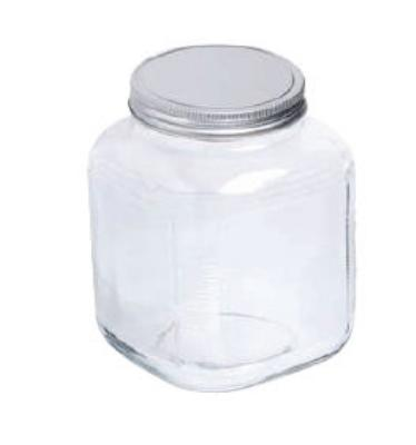 Anchor 85725 1-gal Cracker Jar w/ Bru