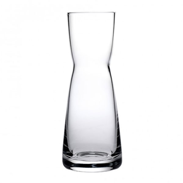 Anchor 90237 Omega Carafe, 6-oz, Tempered Rim