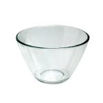 Anchor 94683 2-qt Contemporary Mixing Serving Bowl, Crystal