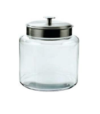 Anchor 95506 1.5-gal Montana Jar w/ Brushed Aluminum Metal Cover