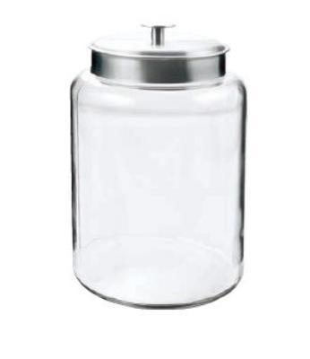 Anchor 95507 2.5-gal Montana Jar w/ Brushed Alu