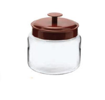 Anchor 95582 48-oz Mini Montana Jar w/ Red Metal Cover