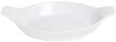 Anchor 95931 6.5x4-in Au Gratin Dish, White