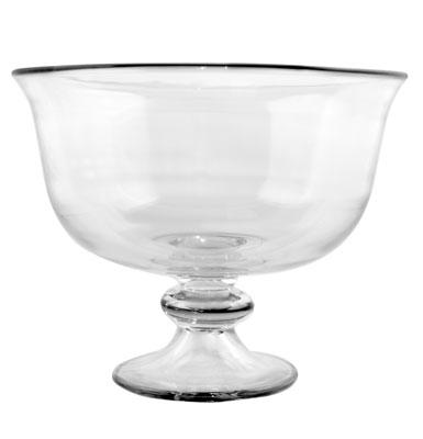 Anchor 96882L9 Large Elegance Trifle, 10x10x8.25-in, Clear