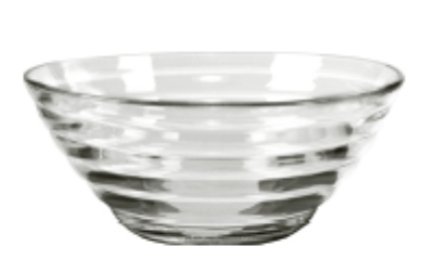 Anchor 96959WM9 6.7-in Cameron Bowl, Crystal
