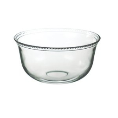 Anchor 98525 Large Olivia Serving Bowl w/ Beaded Rims & D