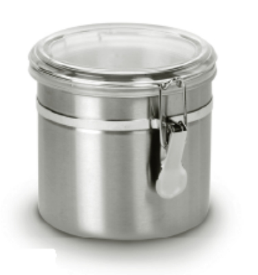 Anchor 98583 32-oz Round Clamp Canister w/ Acryli
