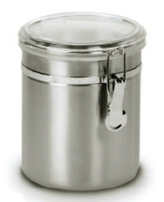 Anchor 98584 47-oz Round Clamp Canister w/ Acrylic