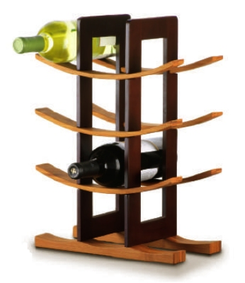 Anchor 98617 Wine Rack w/ 9-Bo