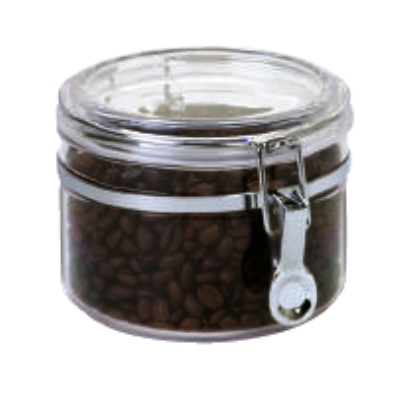 Anchor 98631 32-oz Round Canister w/ Clamp Top Lid,