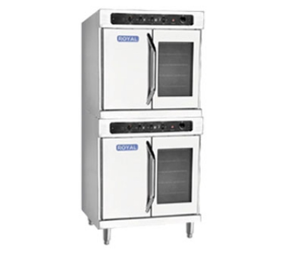 Royal Range RECOD-2 Double Deep Depth Electric Convection Oven - 240/1v